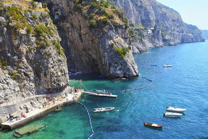 Praiano near Positano, Amalfi Coast Italy