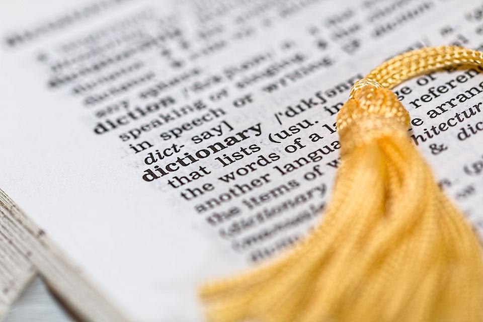diccionario como aprobar cae