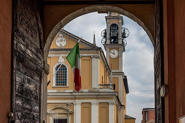 bandera curso italiano