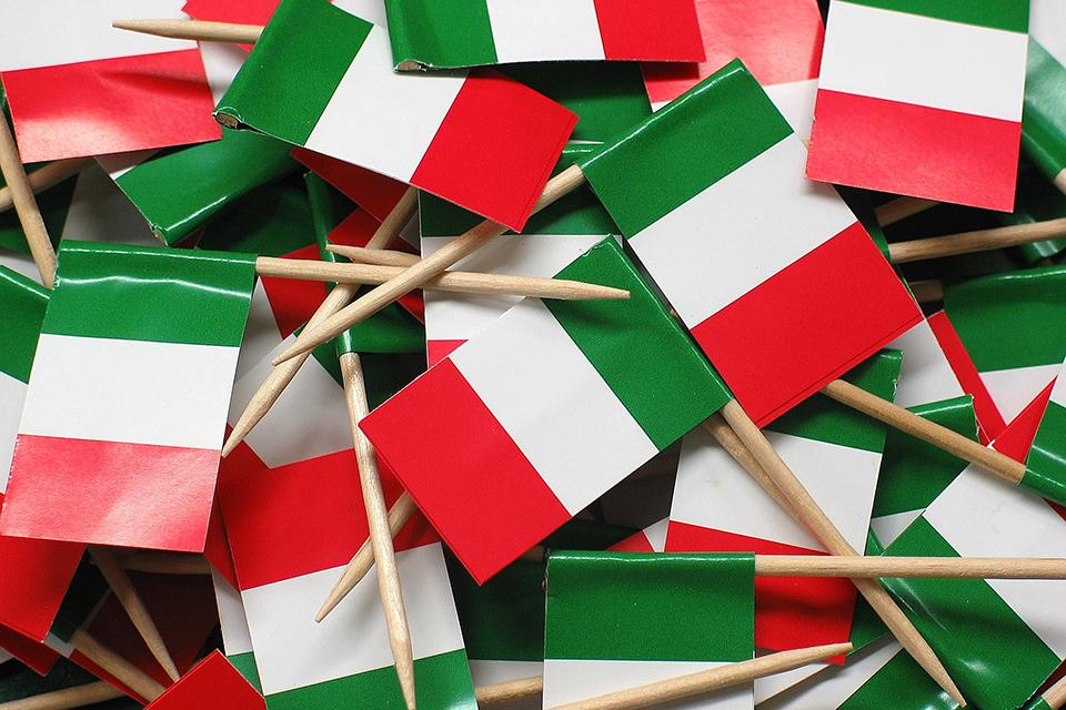 banderas italia curso italiano