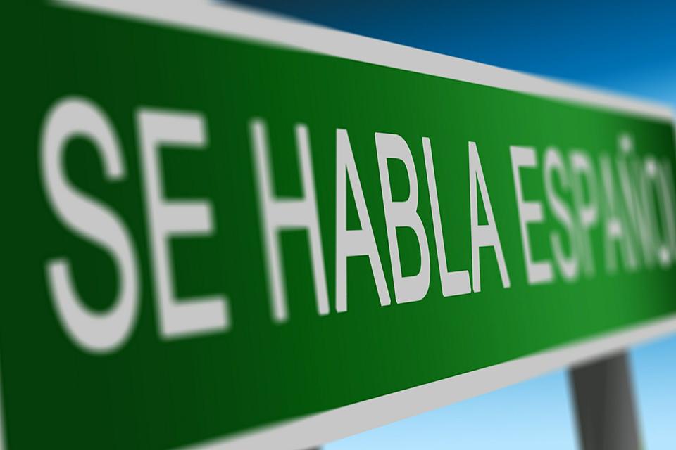 cartel cursos español madrid