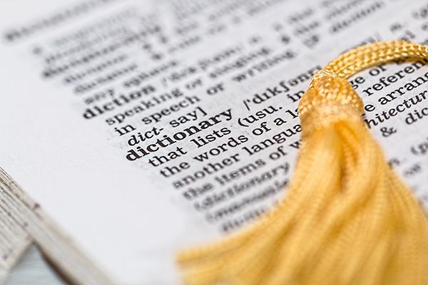 diccionario cursos de ingles