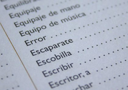 palabras aprender español madrid